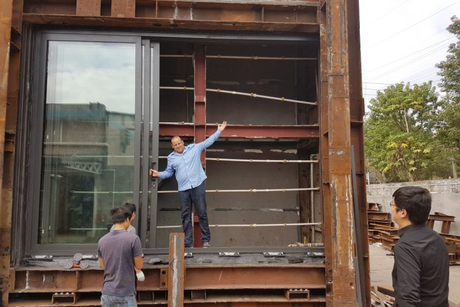 Building with Science #008: Testing of Building Facades